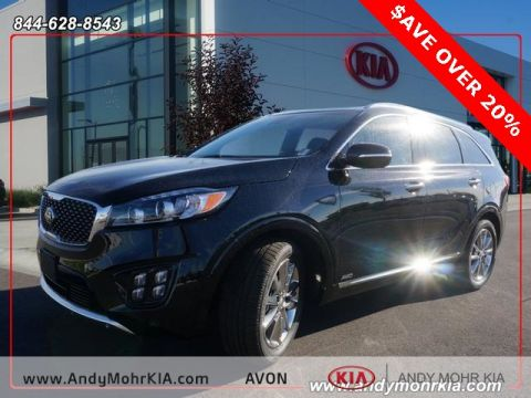 New Kia Sorento Limited V6