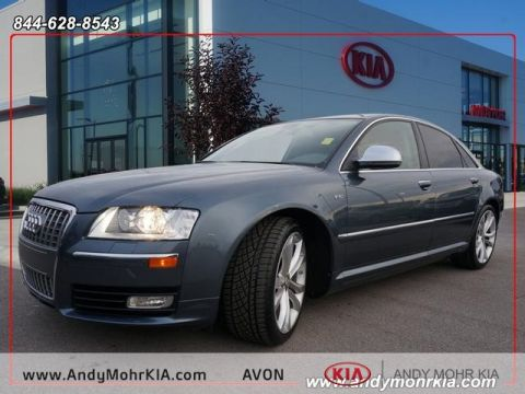 Used cars for sale avon in andy mohr kia pre owned 2008 audi s8 52 fandeluxe Images